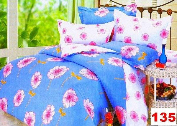 Poszewki na poduszki 40x40 bawełna satynowa wz. 0135
