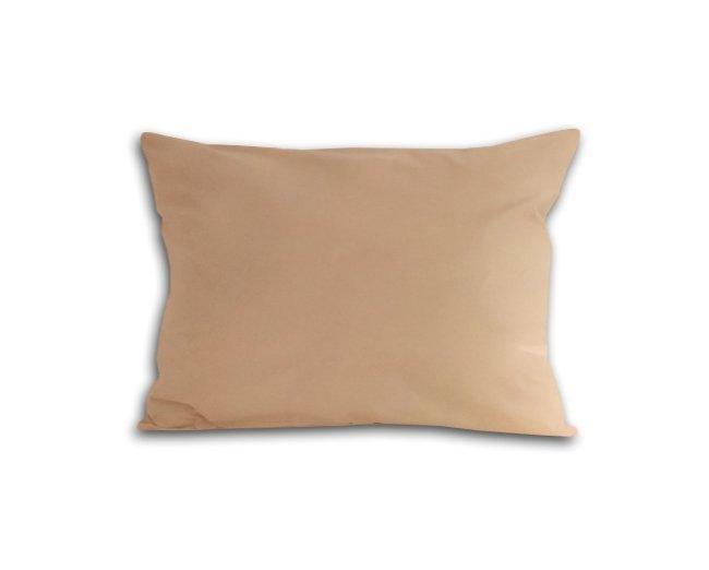 Poszewka na poduszkę 70x80 - 100% bawełna satynowa DARYMEX, zapięcie na zamek wz. beż 018