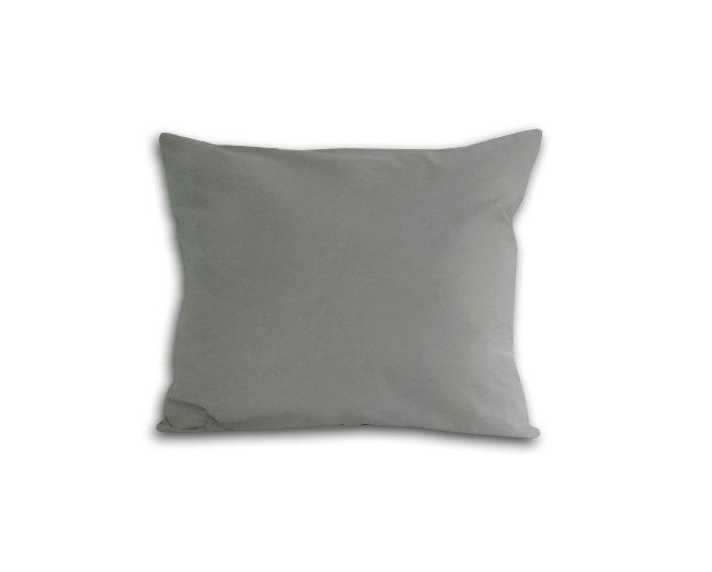 Poszewka na poduszkę 50x60 - 100% bawełna satynowa DARYMEX, zapięcie na zamek wz. popiel 024