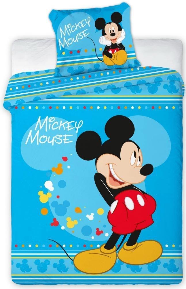 Pościel licencyjna polarowa Myszka Mickey Disney 160x200 wz. 033