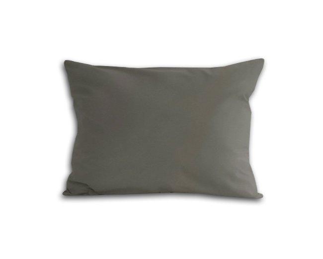 Poszewka na poduszkę 70x80 - 100% bawełna satynowa DARYMEX, zapięcie na zamek wz. jasny szary 037