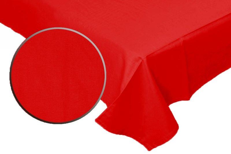 Prześcieradło 100% bawełna satynowa 180x230 bez gumki wz. PS 16 czerwony
