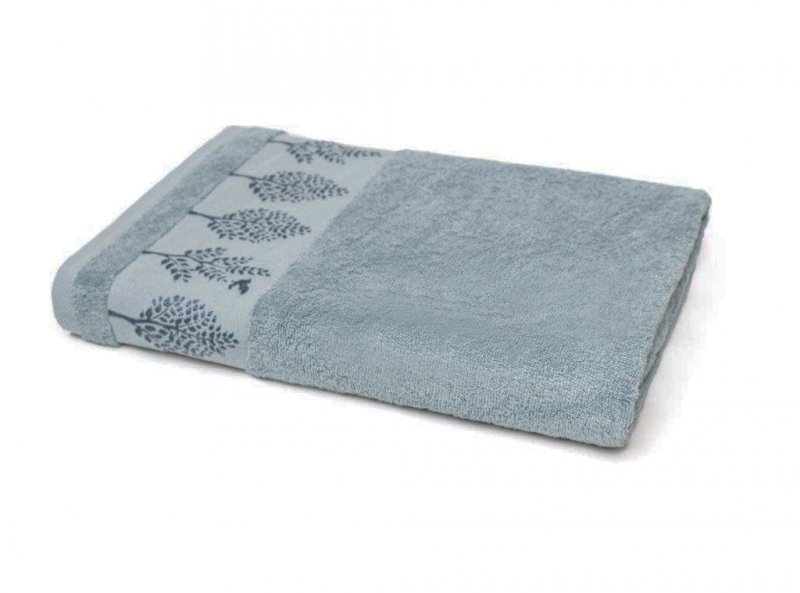 Ręcznik TERRA - rozmiar 50x90 wz. Turkus