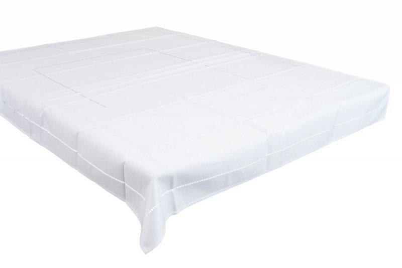 Obrus teflonowy rozmiar 140X180 wzór biały (246)