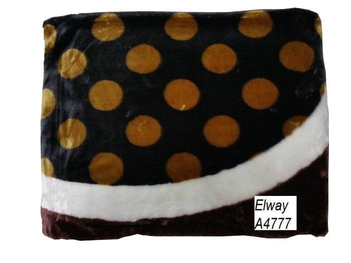Koc akrylowy Elway, 160x210 wz. K-A4777