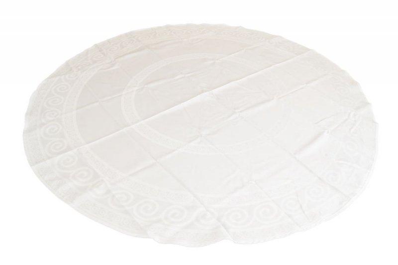 Obrus teflonowy bello rozmiar 160cm wzór kremowy (253)