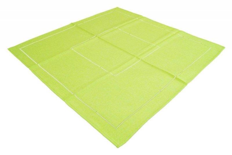 Obrus Technic rozmiar 120x120 wzór jasny zielony (246)