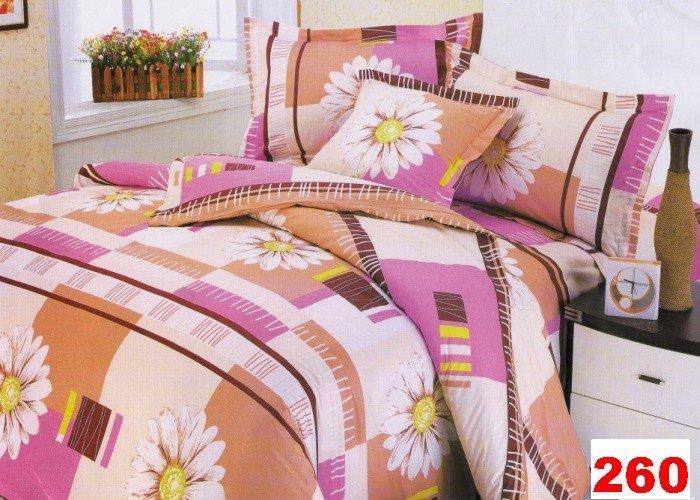 Poszewki na poduszki 40x40 bawełna satynowa wz. 0260