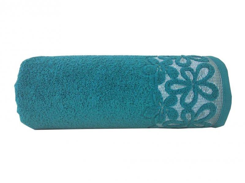 Ręcznik BELLA 30x50 kolor szmaragdowy