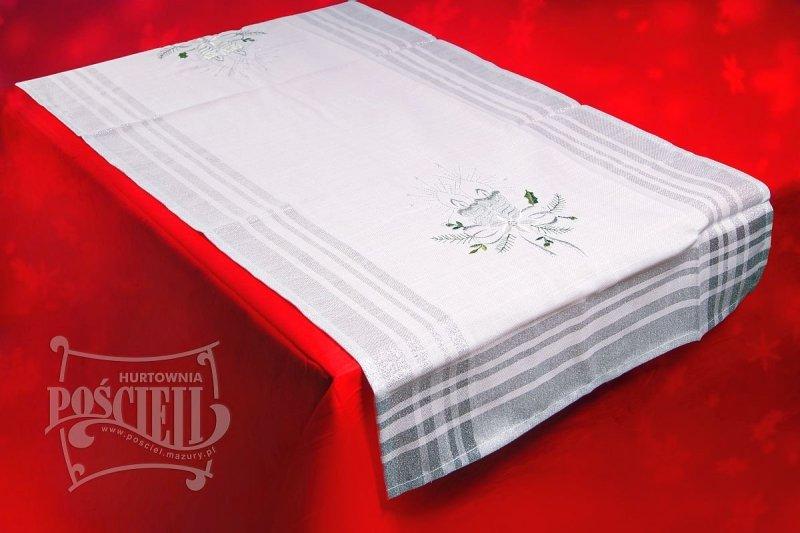 Obrus świąteczny rozmiar 140x400 wzór BN173s