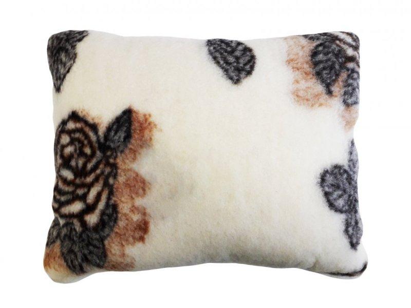 Poduszka wełniana, wełna MERYNOS 50x60 - Florina