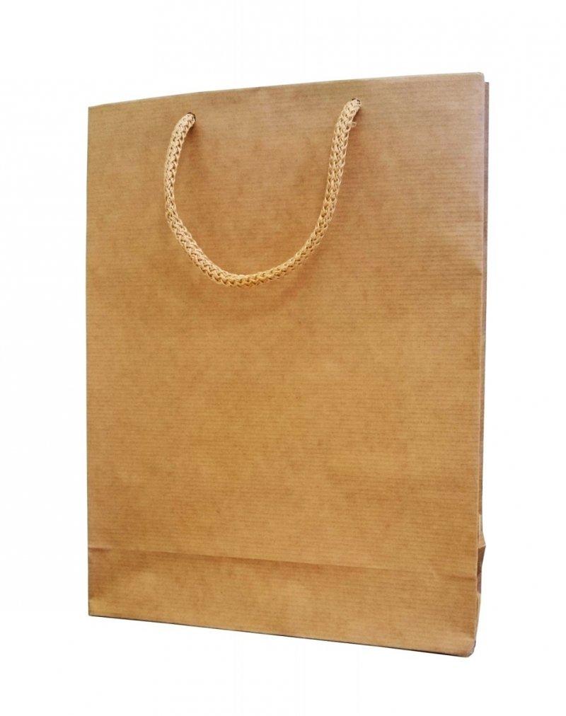 Opakowanie, torba papierowa 27x20cm wz. EKO N
