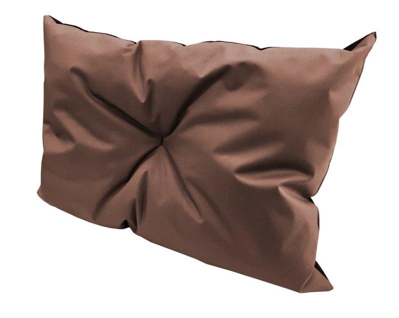 Poduszka ogrodowa na paletę - narożnik 70x40 wz. Brązowy