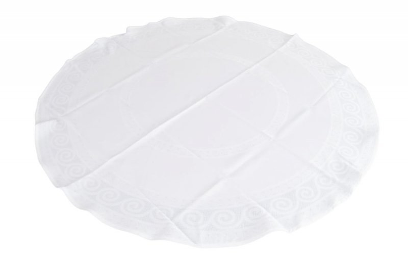 Obrus teflonowy bello rozmiar 120cm wzór biały (253)