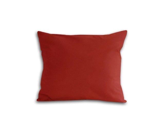 Poszewka na poduszkę 50x60 - 100% bawełna satynowa DARYMEX, zapięcie na zamek wz. bordo 20053