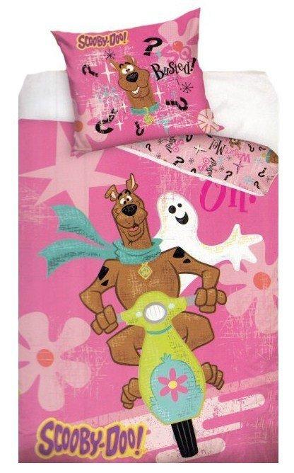 Pościel licencyjna Disney 100% bawełna 160x200 lub 140x200 - Scooby-Doo SD8016