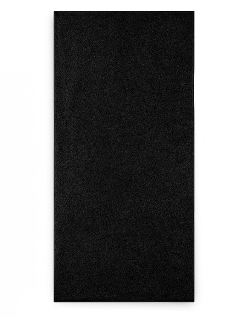 Ręcznik z bawełny egipskiej KIWI 2 70x140 wz. czarny