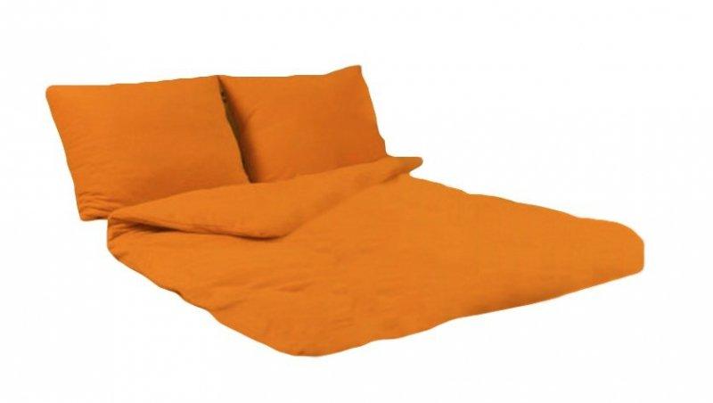 Pościel POLAROWA 220x200 , super miękki polar wz. pomarańczowy