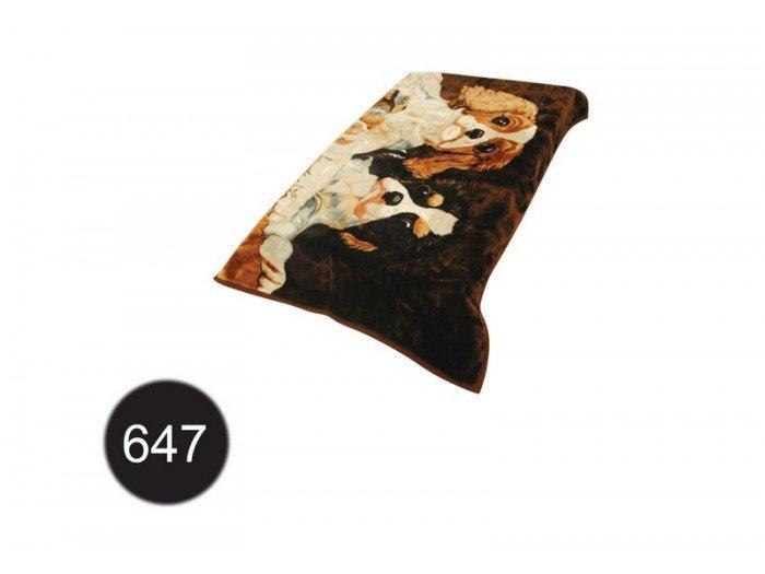 Koc akrylowy Elway, 160x210 wz. K-647