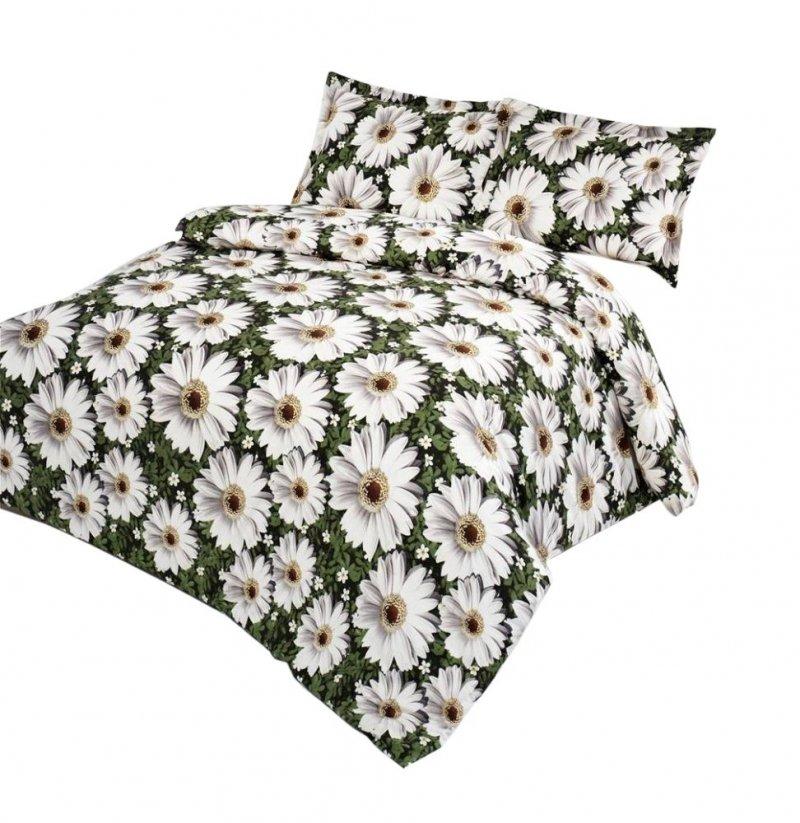 Ekskluzywna Pościel Satynowa Valentini Bianco -  100% bawełna 160x200 lub 140x200 - Life-Kwiaty