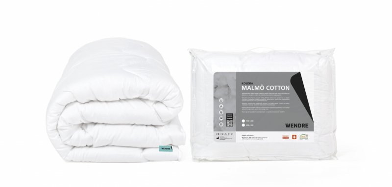 Kołdra uniwersalna MALMO Cotton - Wendre - 155x200 - wyrób medyczny