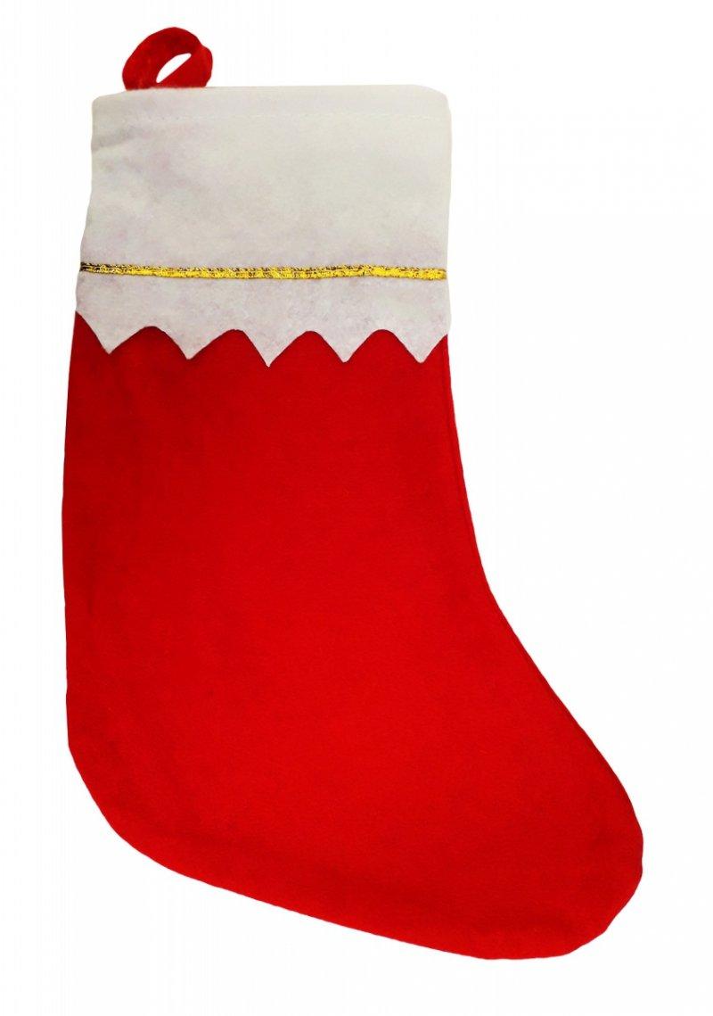 Skarpeta świąteczna na prezenty 35cm