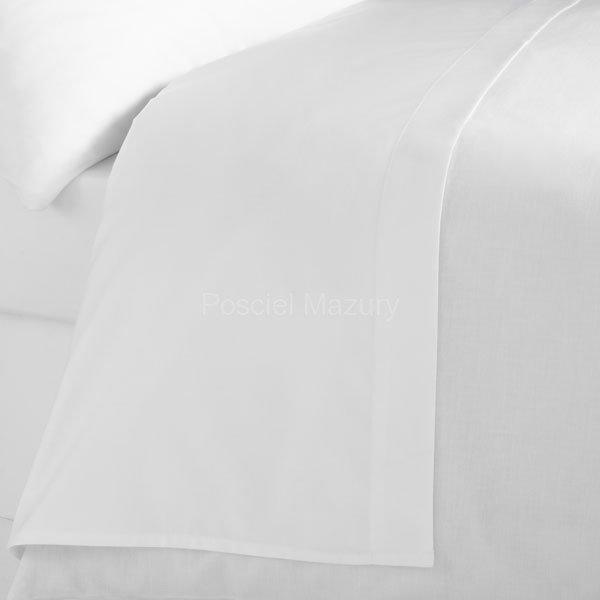 Prześcieradło białe hotelowe, hotel 220x260