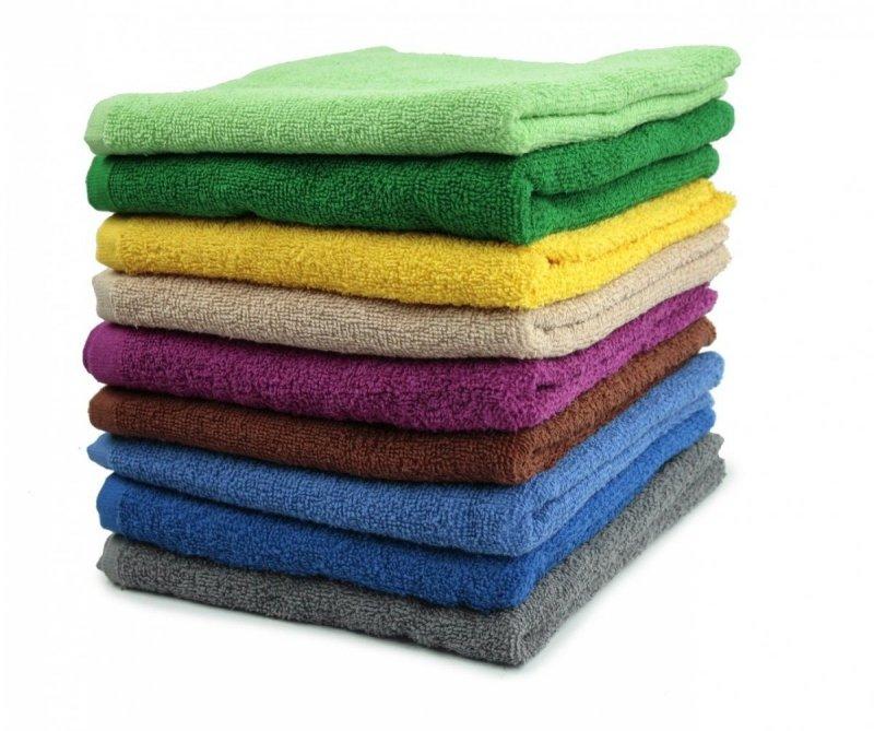 Ręcznik ARES 50x100 kolor żółty
