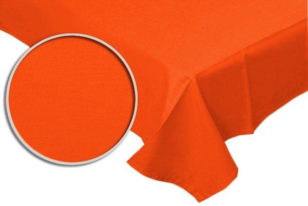 Prześcieradło RUBIN 100% bawełna 160x200 bez gumki wz. pomarańczowy
