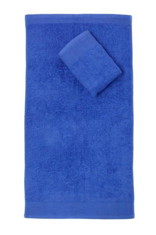 Ręcznik Aqua 30x50 ciemny niebieski