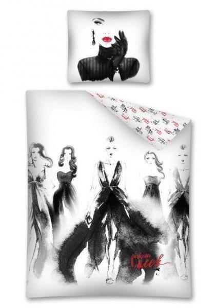 Pościel młodzieżowa 100% bawełna 160x200 lub 140x200 - Fashion wz. 2492