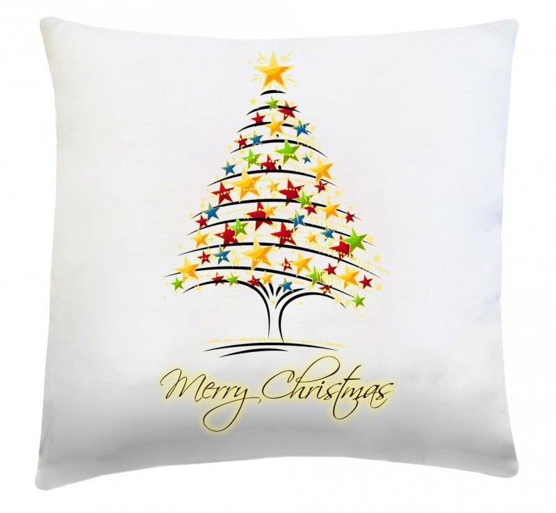 Poduszka świąteczna 40x40 wz. Choinka 2