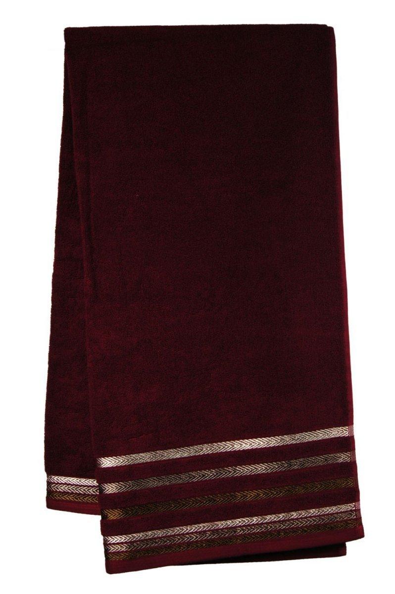 Ręcznik BIANNA 70x140 kolor bordowy