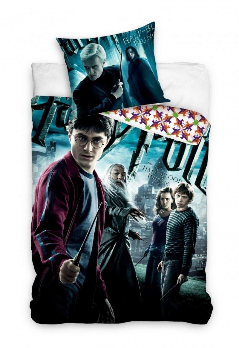 Pościel licencyjna 100% bawełna 160x200 lub 140x200 -  Harry Potter - HP191132