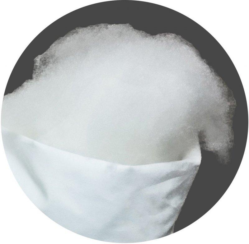 Wypełnienie do poduszek - włókno silikonowe 1kg