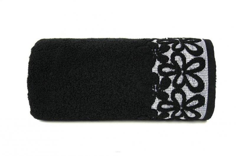 Ręcznik BELLA 30x50 kolor czarny