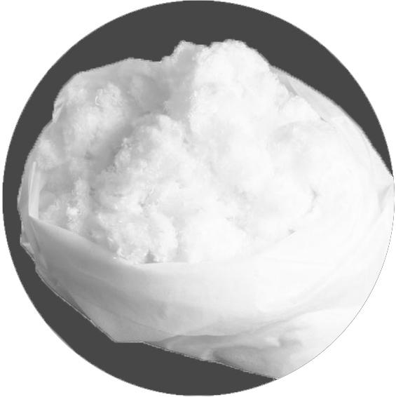 Wypełnienie do poduszek - włókno poliestrowe 1kg