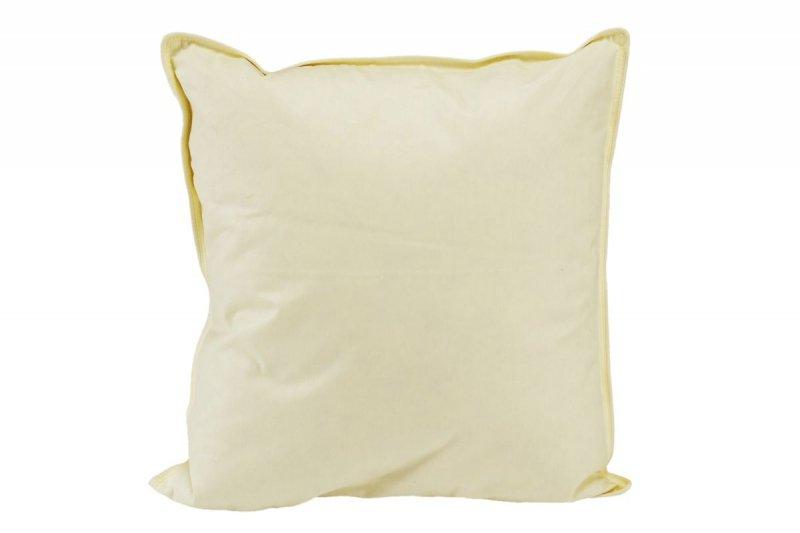 Poduszka puchowa 40x40 wz. kremowy
