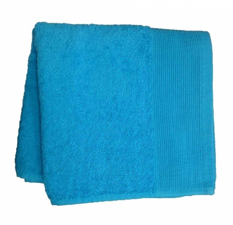 Ręczniki, ręcznik jednobarwne AQUA rozmiar 30x50 wz. turkus