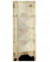 Holzregal 6 Böden 200x80x28 cm, B-27, Unbehandelt