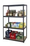 Metallregal Werkstatt Schwerlastregal Helios 180x100x60_4 Böden, Tragkraft bis 400 Kg pro Boden,  Viele Farben zur Auswahl