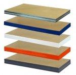 Zusatzboden 120 x 050_P zu Metallregal Helios VERZINKT und pulverbeschichtet alle FARBEN