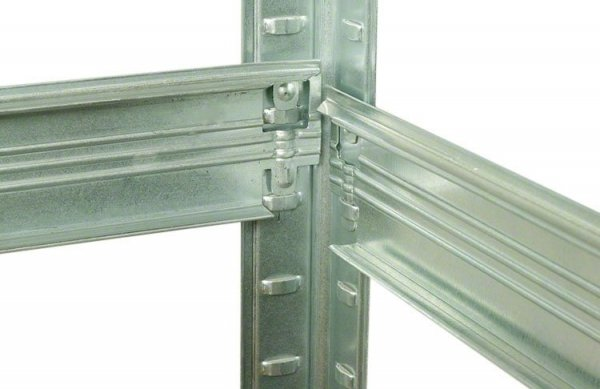 Metallregal HZ Helios 213x110x50 5 STABIL