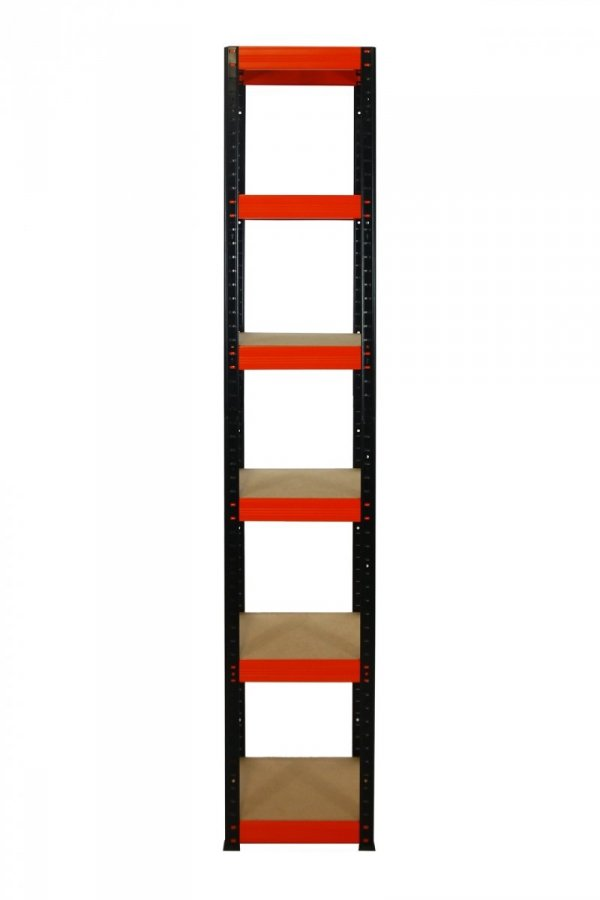 Metallregal Werkstatt Schwerlastregal Helios 213x035x35_6 Böden, Tragkraft bis 175 Kg pro Boden,  Viele Farben zur Auswahl, Quadratisch