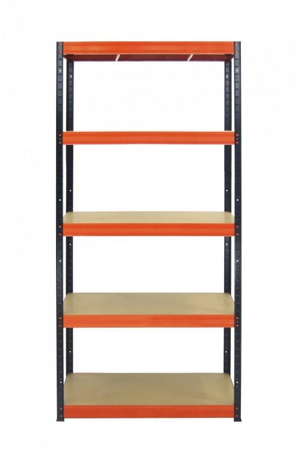 Metallregal Werkstatt Schwerlastregal Helios 196x100x35_5 Böden, Tragkraft bis 400 Kg pro Boden,  Viele Farben zur Auswahl