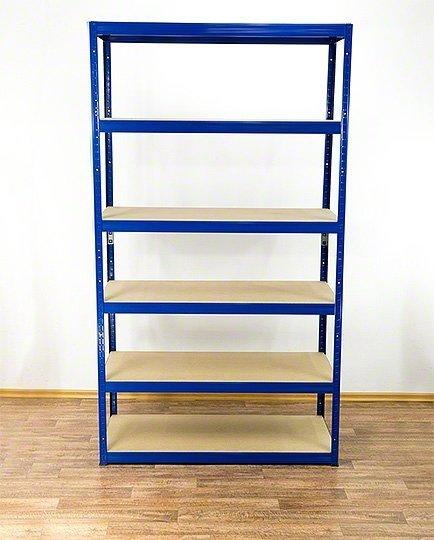 Metallregal Werkstatt Schwerlastregal Helios 213x120x50_6 Böden, Tragkraft bis 400 Kg pro Boden,  Viele Farben zur Auswahl
