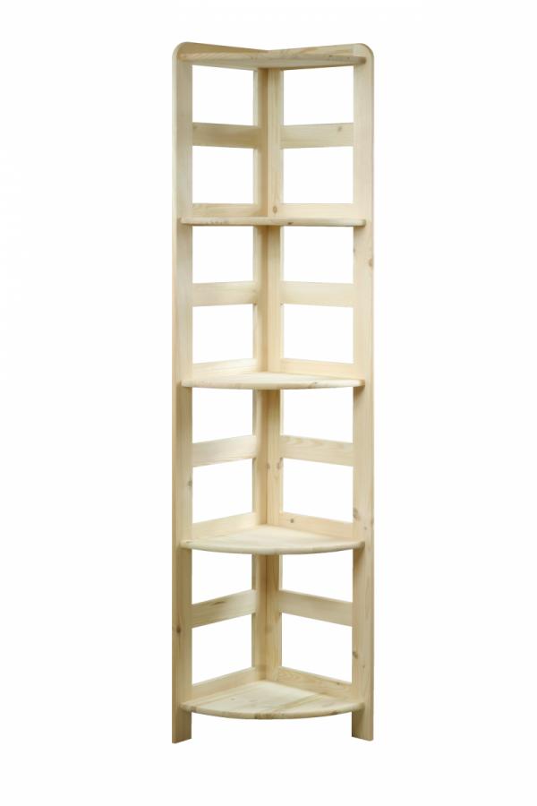 Holzregal Bücherregal R-11(166x33x33), 5 Böden