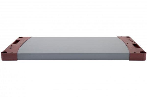 Zusatzboden zu Plastikregal Jupiter, alle Breiten (von 60 bis 150 cm) und Farben, Tiefe 46 cm
