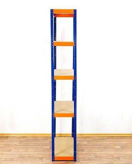 Metallregal Werkstatt Schwerlastregal  bunt farbig   Helios 213x100x45 5 Stabil