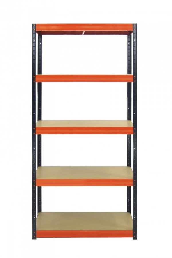 Metallregal Werkstatt Schwerlastregal  bunt farbig  Helios 213x100x35 5 Stabil